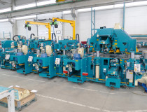State-of-the-art finger jointing technolgy for a renowned German supplier