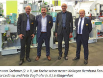The Slovenian gluelam specialists presented themselves successfully in Klagenfurt.