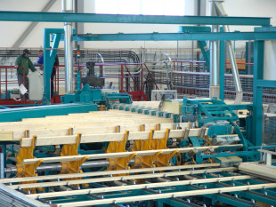 Finger jointing line