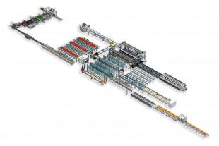3D Layout of the new CLT Line