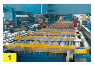 Kontizink MH120-60 kN-S120 finger jointing line with capacity up to 120 pcs/min; 120 m/min