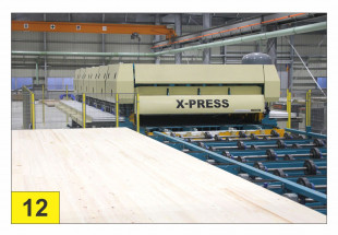 X-PRESS 12 - Patented CLT press