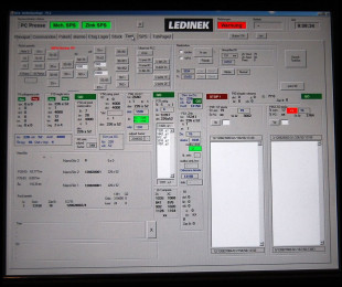 Glue lam manager pc controll system