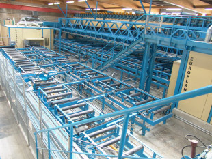 Roll conveyors