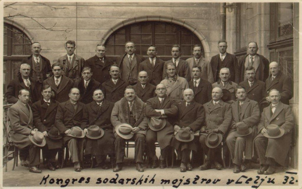 Participation at the Congress of Cooperage Craftsmen in Celje in 1932.